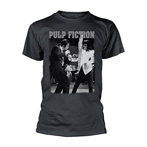 Pulp Fiction Dancing (Black Acid Wash) TS