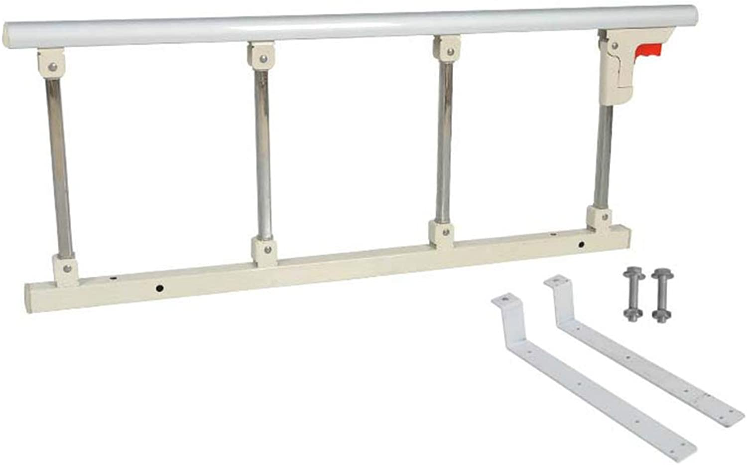 LXLA - Bed Assist Rail, Folding Home Bed Rail Bar Handle for Elderly and Seniors, Adult Bed Assist Bar - 95cm length