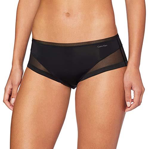 Calvin Klein Damen Hipster, Schwarz (Black 001), 36 (Herstellergröße: S)