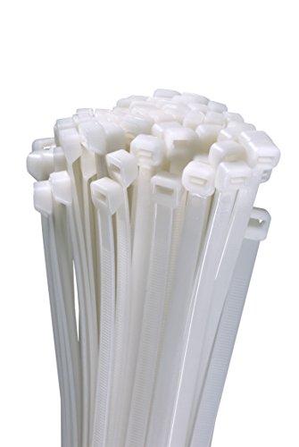 Profi Kabelbinder weiß naturfarben robust kurz bis lang UV stabil (bitte im Auswahlfenster Größe und Menge wählen)