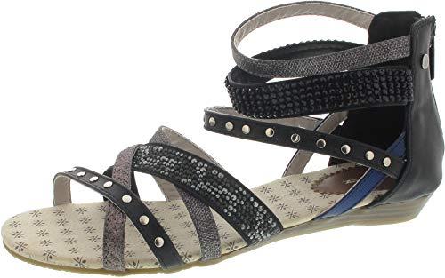 MUSTANG (Sandale schwarz / 40