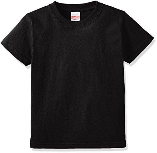 (ユナイテッドアスレ)UnitedAthle 5.6オンス ハイクオリティー Tシャツ 500102 [キッズ] 002 ブラック 140