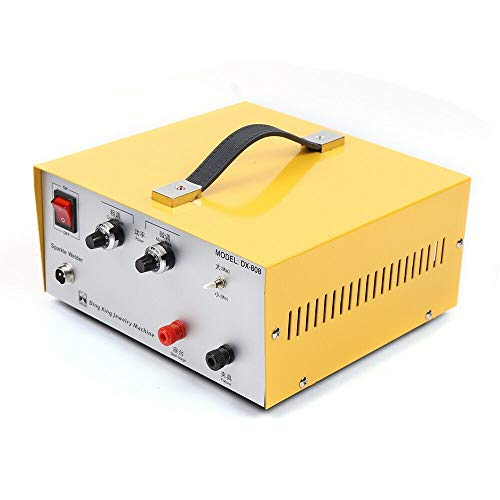 Jewelry Spot Welding Machine, 110V 80A Spot Welder with Foot Pedal for Jewelry Gold Silver Platinum