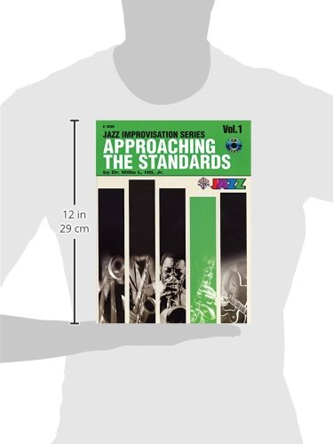 Approaching the Standards, Vol 1: E-flat, Book & CD (Jazz Improvisation Series)