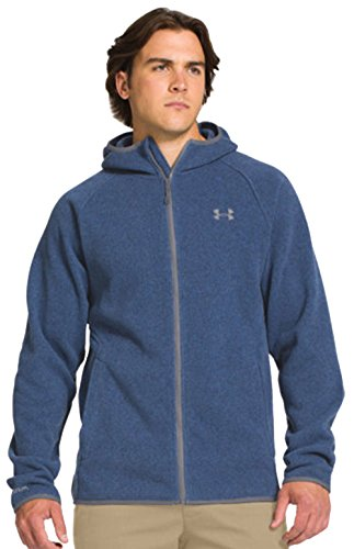 Under Armour Men's Forest Full Zip Fleece Hoodie Jacket Medium