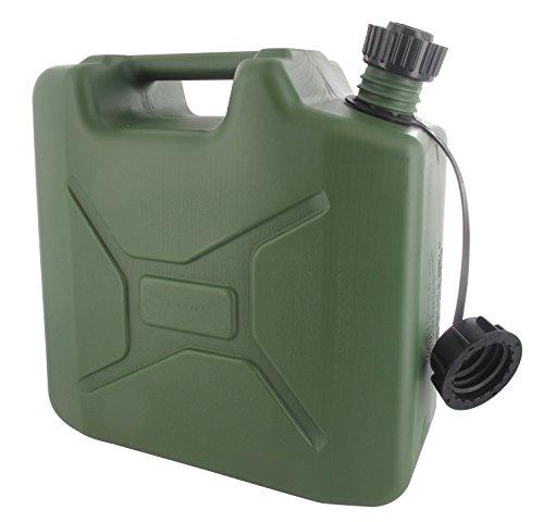 Greenstar 10194bidón plástico tipo con vertedor, Negro, 505432