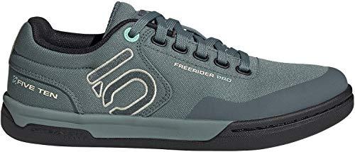 Five Ten Women's Freerider Pro Primeblue Mountain Bike Shoe, Acid Mint/Hazy Emerald/Sand - 7