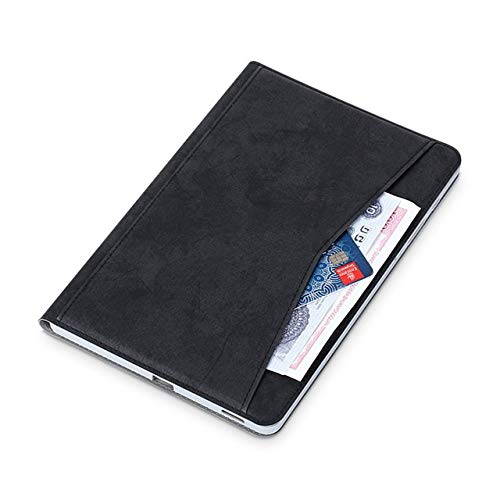 HHF Tab Accessories For Samsung Galaxy Tab S6 Lite 10.4', Stand Soft Pu Leather Smart Cover For Galaxy Tab S6 Lite SM P610 P615 (Color : Black)