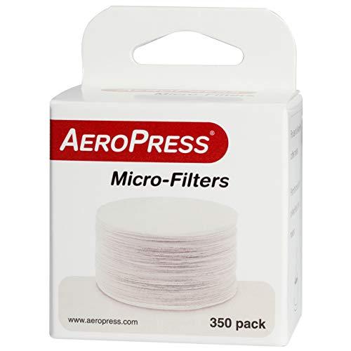 Aerobie AP002 Filtros de café desechables para Aeropress, Paper, blanco