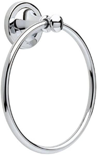 Delta Faucet 132889 Silverton Towel Ring Polished Chrome