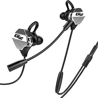 SAMEVE G10 Stereo Gaming Headset, Mircrophone Feature Gaming Earbuds com microfone, cancelamento de ruído Stereo Bass Fone...