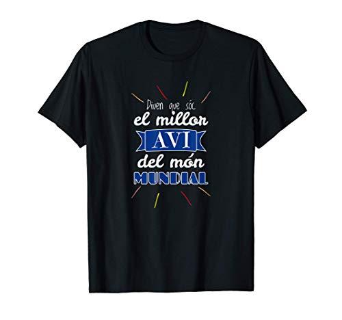 El Millor Avi Del Món Mundial Regal Original En Català Camiseta