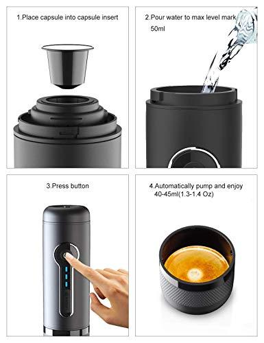 CONQUECO Cafeteras para espresso