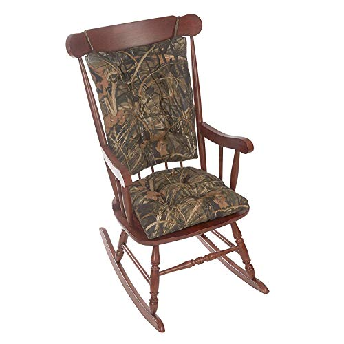 Gripper Realtree Indoor/Outdoor Jumbo Rocking Chair Cushion Set
