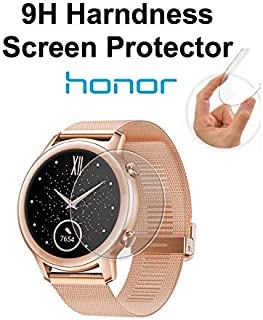 Gear Guard 9H Hardness Screen Protector for Honor Magic Watch 2, 42mm (Pack of 2)