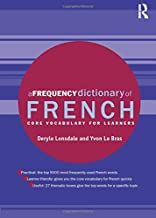 A Frequency Dictionary of French (Routledge Frequency Dictionaries)