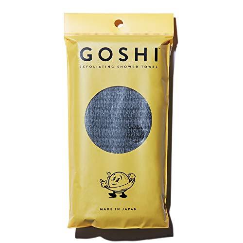 GOSHI ボディータオル 美肌目醒める 角質除去 日本製 あかすり 泡立ち