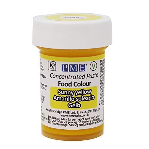 Colorante Alimenticio PME Amarillo de Sol 25 g