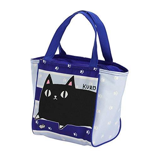 猫好きにはたまらないランチバッグ!! にゃん屋 ランチバッグ猫3兄弟KURO 13486 〈簡易梱包