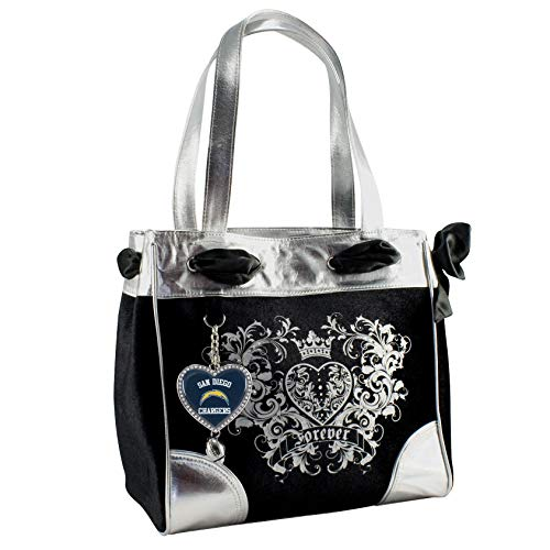 Littlearth Productions NFL San Diego Chargers Sport Luxe Tote