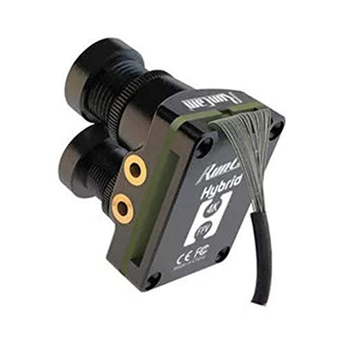LouiseEvel215 RunCam Hybrid FOV 145 Grados 4K 30fps Grabación HD DVR Doble Lente Mini FPV Cámara Baja latencia Tablero único para RC Racing Drone