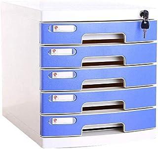 Fichier de Bureau Bureau A4 Cabinet verrouillables Papier Multi-Couche Plastique Dossier de Stockage Cabinet des ménages F...