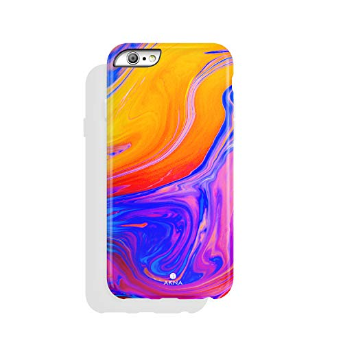 iPhone 6 & iPhone 6s Case Watercolor, Akna Charming Series High Impact Silicon Cover with Full HD+ Graphics for iPhone 6 & iPhone 6s (101591-U.S)