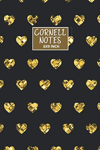 CORNELL NOTES: Glitter Journal | Cornell Notes Notebook Small