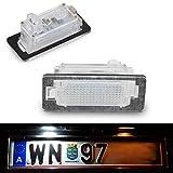 Do!LED A011 - Iluminación LED para matrícula (luz blanca fría/blanca pura, con certificado E, 100% impermeable)