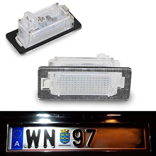 Do!LED A011 LED Kennzeichenbeleuchtung Kaltweiss/Pure White mit E-Prüfzeichen 100% wasserdicht!!!