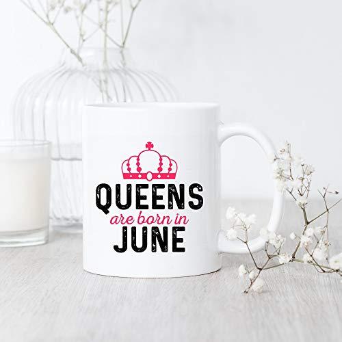 Juni Born Queens Tasse Juni Geburtstag Tasse Juni Geburtstag Geschenk Zwillinge Geburtstagstasse Krebs...
