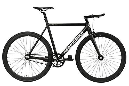 FabricBike Light - Fixed Gear Fahrrad, Single Speed Fixie Starre Nabe, Aluminium Rahmen und Gabel, Wheels 28