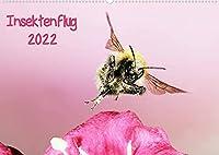 Insektenflug 2022 (Wandkalender 2022 DIN A2 quer): Highspeed Aufnahmen fliegender Insekten (Monatskalender, 14 Seiten )