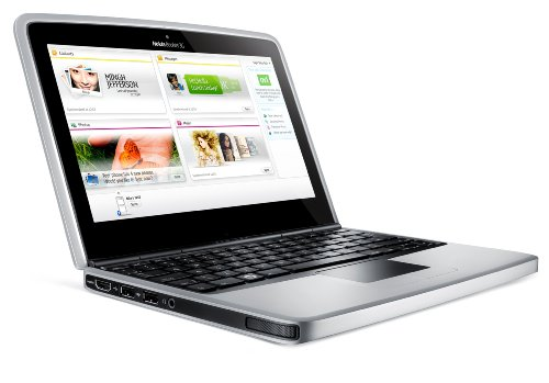 Nokia Booklet 3G 25,7 cm (10,1 Zoll) Netbook (Intel Atom Z530 1.6GHz, 1GB RAM, 120GB HDD, Intel GMA 500, Win 7 Starter) blau