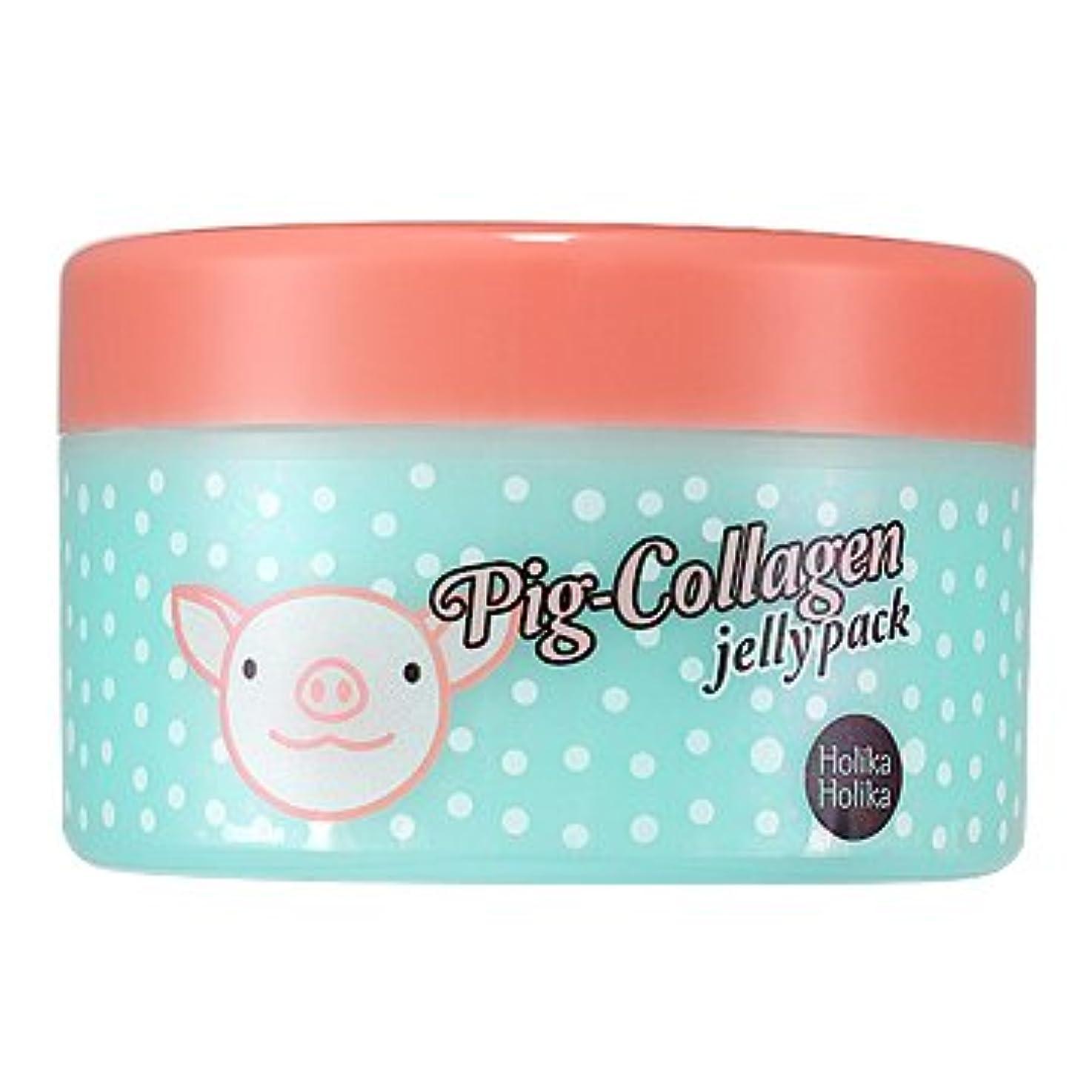 軽食閉じ込める誕生日ホリカホリカ ピッグコラーゲンジェリーパック(リンクルケア) / HolikaHolika Pig Collagen Jelly Pack 80g [並行輸入品]