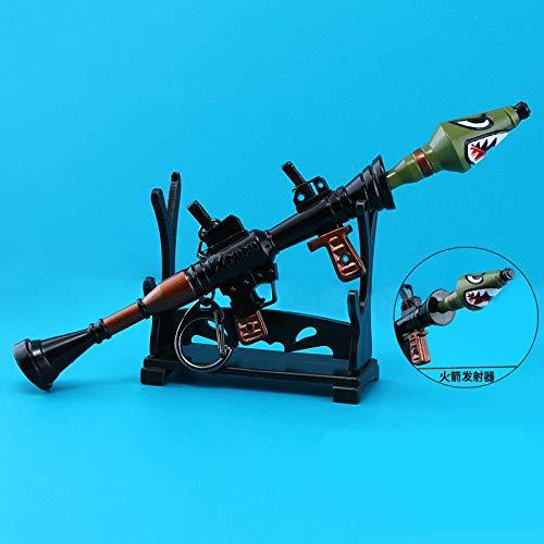 B-Creative Model sleutelhangers sleutelhangers geïnspireerd wapen sleutelhangers (EXTRA Large Rocket Launcher Large)