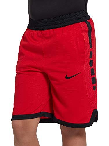 Nike Dri Fit Elite Stripe Short AQ9473 657 Red   Black XL