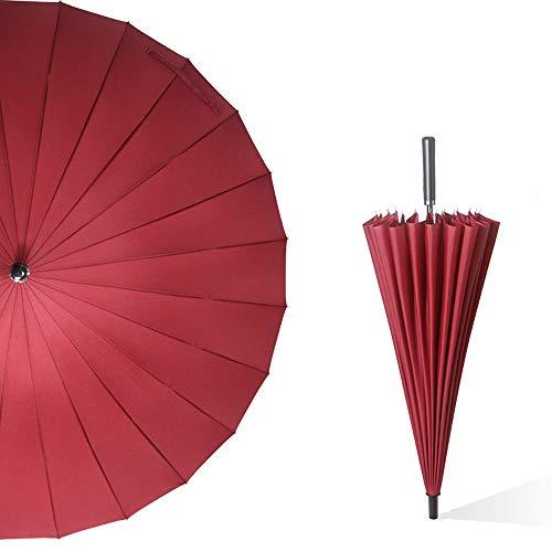 FYMDHB886 paraplu 24 bot wind rechte staaf Effen zakelijke paraplu Creatieve reclame geschenk paraplu Golf paraplu, Size, D