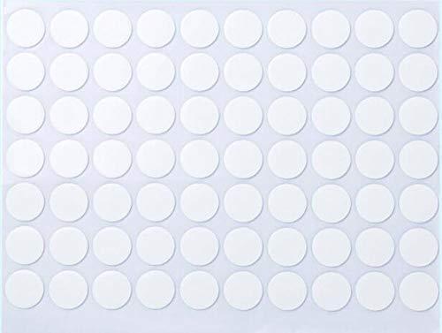 SZB 両面テープ はがせる 家庭用 丸い 透明 粘着シール 壁に貼る 超強力 業務用 耐水 耐熱 多用途 風船用 車 固定用 強力 DIY 70個入り (10)