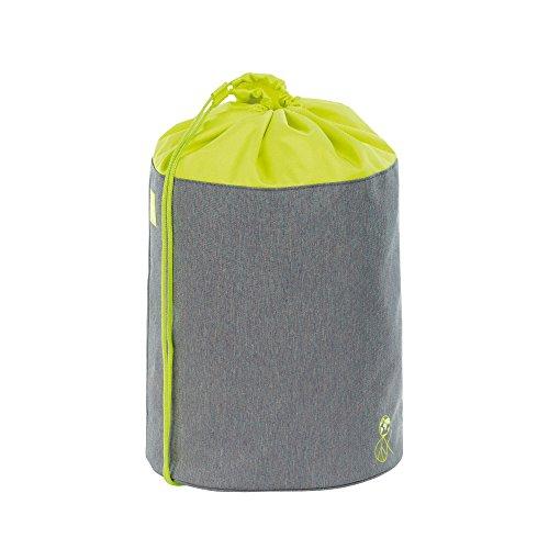 LÄSSIG Kinder Sporttasche Mädchen Junge Schule Kindergarten Sportbeutel Seesack / School Sportsbag, About Friends grau