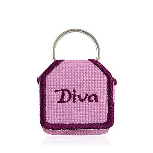 The Tag Bag - Dog Tag Silencer (Diva-Lavender/Pink)