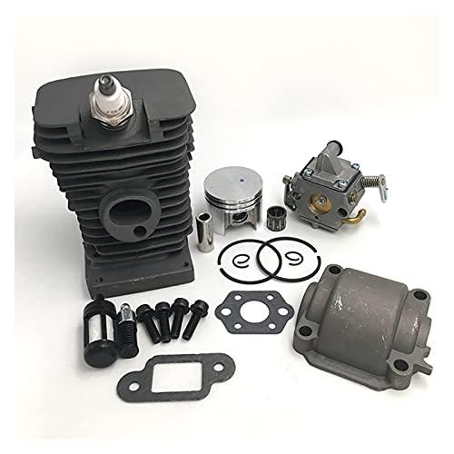 XINYE wuxinye Kit de Cilindro del Cilindro del Cilindro de 38 mm Fit para Stihl 018 MS180 MS 180 Motosierra Motor Pan Tornillos Piezas (Size : MS180 Cylinder 38MM)