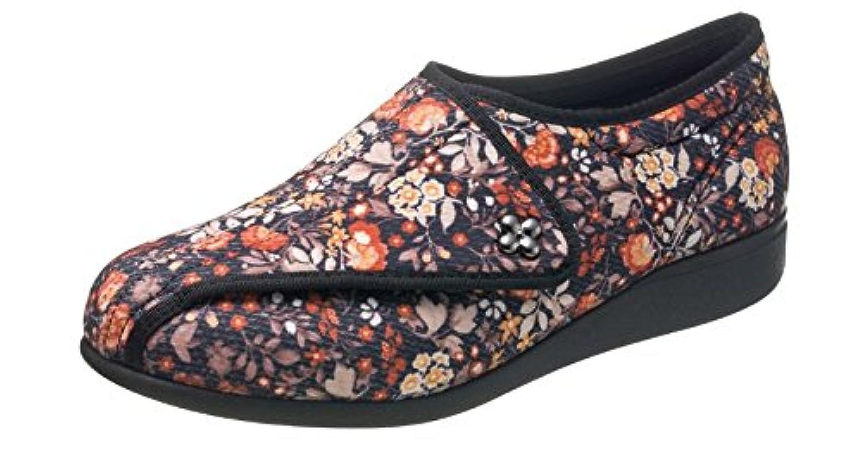 快歩主義L011 ブラックハナガラ 【 3E 】 ?歩くことを医学的に分析して開発しました。もっと元気になれる靴?快歩主義
