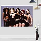 WSHIYI Spice Girls Poster Modernes Poster Leinwandmalerei