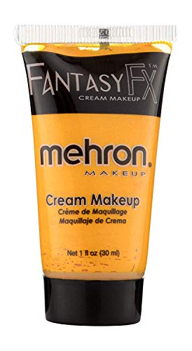 Mehron Makeup Fantasy F/X Water Based Face & Body Paint (1 Fl Oz) (Orange)