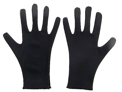 Water Repellent Skating Gloves for 8Years Black