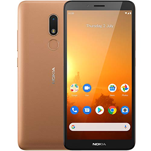 Nokia C3 (Sand, 2GB RAM, 16GB Storage) with No Cost EMI/Additional Exchange Offers