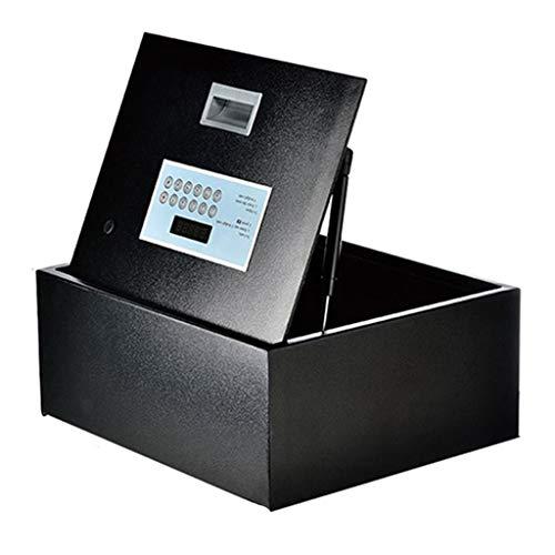 TYLZDZ Cajas Fuertes Caja De Seguridad Caja De Seguridad Pequeña Caja Fuerte Totalmente De Acero Contraseña Inteligente Seguridad Oficina Alarma Antirrobo Gabinete De Seguridad