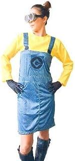 (UNBRAS) 怪盗グルー ミニオン 風 セット レディース ハロウィン コスプレ USJ 衣装 おまけ付き