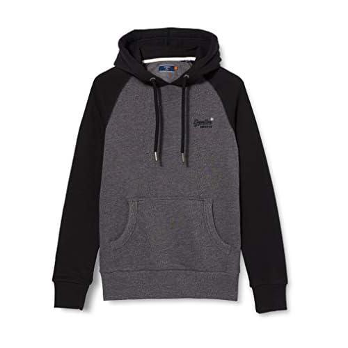Superdry Men's Ol Classic Raglan Hood Sweater